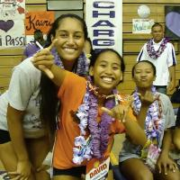 Pearl City Lady Chargers Senior Night photos from win over Miliani for Red West