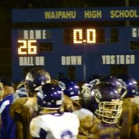 Pearl City falls to Waipahu in first loss of the year, 26-12  (10/1/10)