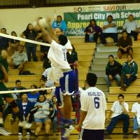 Pearl City Sweeps Past Leilehua 25-19, 26-24  in OIA Red West Varsity Boys Volle