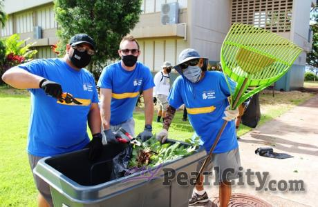 Community Day in our Schools beautifies seven Pearl City, Aiea campuses