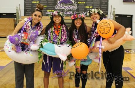 Aloha Lady Chargers Class of 2021 | Pictured: Pearl City Lady Charger senior bas