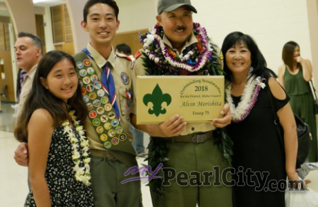 Service for Scoutmaster Al Morishita, June 10th, 10 am, please RSVP