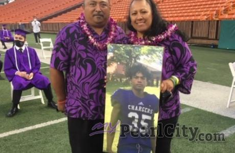 Pearl City honors blessed graduate, Joshua Amina