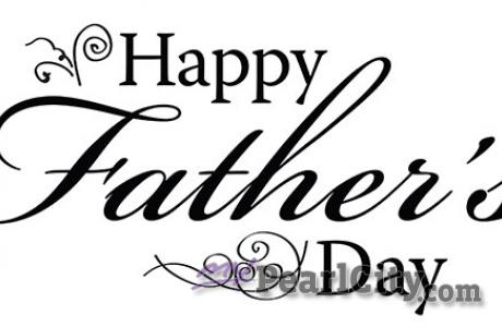 Happy Father's Day to all!
