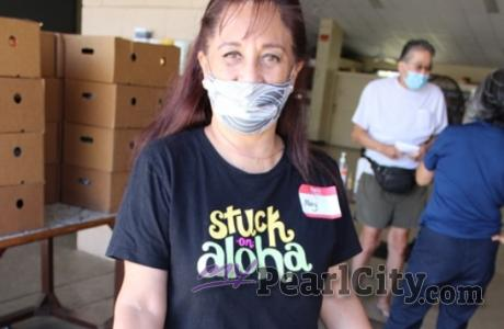 Inspire Aloha this weekend   Mary Villamil is pictured helping out this summer a